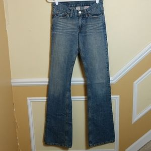 Lucky Brand Dungarees by Gene Montesano sz 2/26